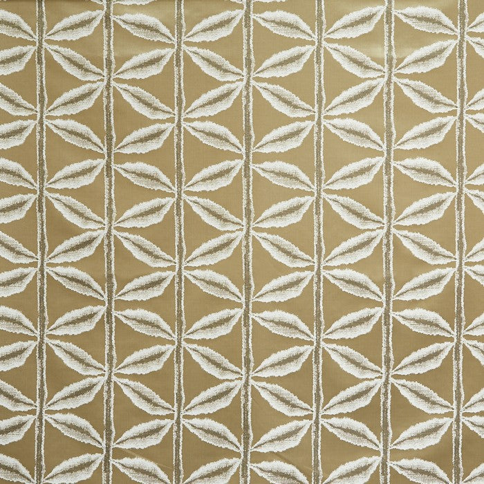 Prestigious Textiles Palm Curtain Fabric | Ochre - Designer Curtain & Blinds