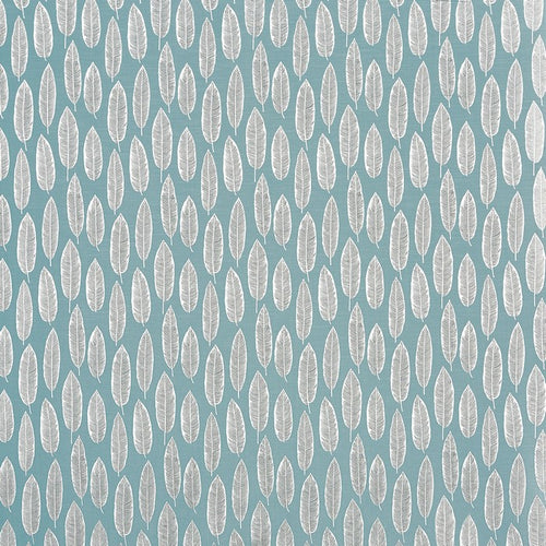 Prestigious Textiles Quill Curtain Fabric | Teal - Designer Curtain & Blinds