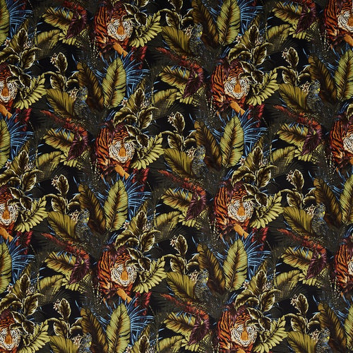 Bengal Tiger curtain fabric in Amazon by Prestigious Textiles
