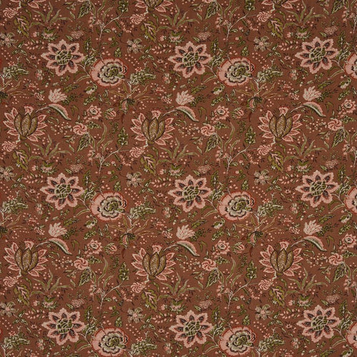 Apsley curtain fabric in Russet by Prestigious Textiles