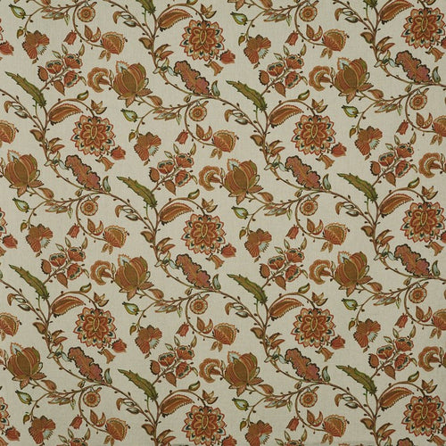 Kenwood curtain fabric in Russet by Prestigious Textiles