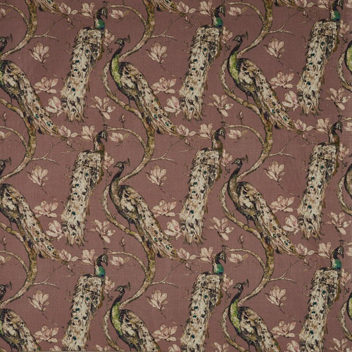 Richmond curtain fabric in Woodrose by Prestigious Textiles