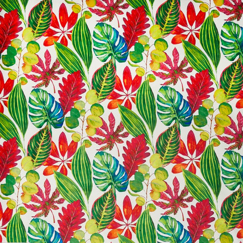 Bahamas curtain fabric in Tropical by Prestigious Textiles