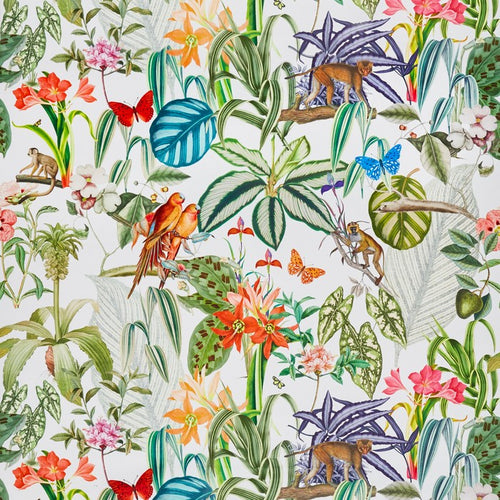 Barbados curtain fabric in Tropical by Prestigious Textiles