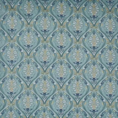 St Kitts curtain fabric in Lagoon by Prestigious Textiles