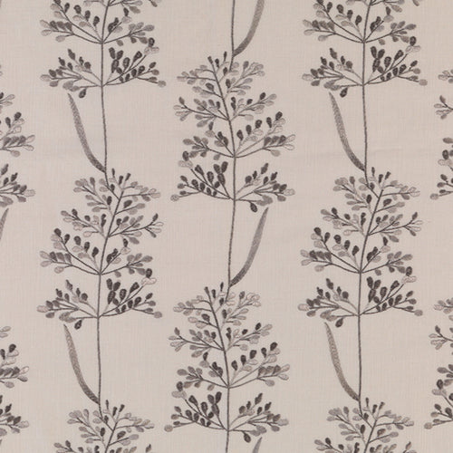 Fibre Naturelle Beaulieu Curtain Fabric | Pebble - Designer Curtain & Blinds