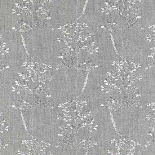 Fibre Naturelle Beaulieu Curtain Fabric | Gainsboro - Designer Curtain & Blinds