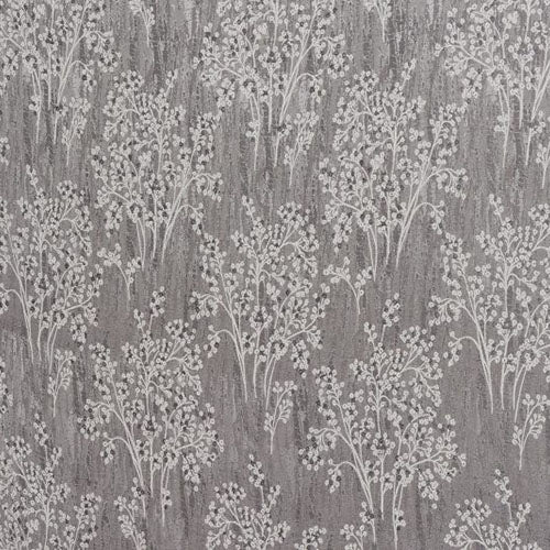 Porter & Stone Chantilly Curtain Fabric | Grey - Designer Curtain & Blinds