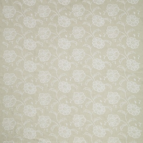 Chantilly curtain fabric in Stone by iLiv