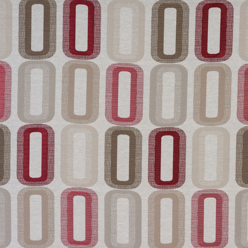 Fryetts Dahl Curtain Fabric | Rosso - Designer Curtain & Blinds