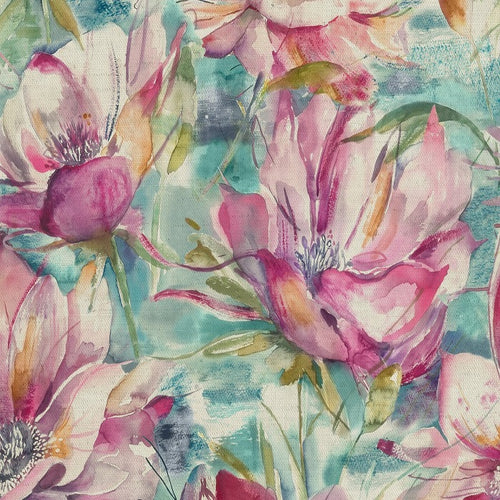 Voyage Dusky Blooms Curtain Fabric | Sweetpea - Designer Curtain & Blinds