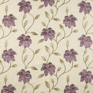 Everglade curtain fabric in Berry by iLiv