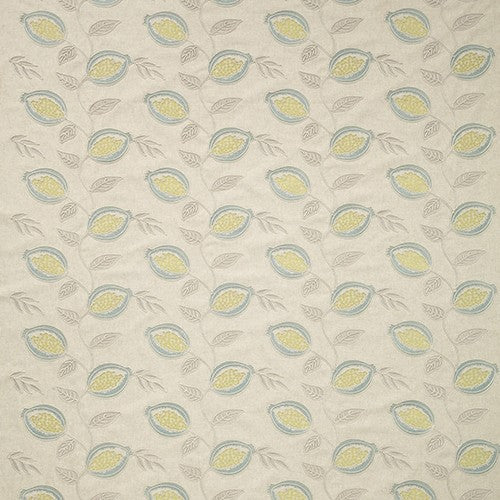 iLiv Fiori Curtain Fabric | Celadon - Designer Curtain & Blinds