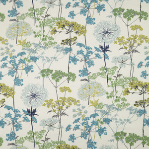 Hedgerow curtain fabric in Pistachio by iLiv