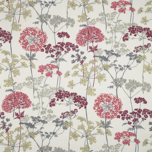 iLiv Hedgerow Curtain Fabric | Ruby - Designer Curtain & Blinds