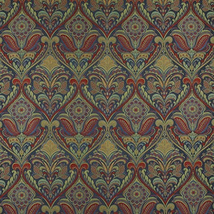 iLiv Hidcote Curtain Fabric | Jewel