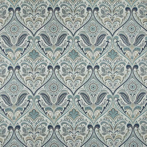 iLiv Hidcote Curtain Fabric | Prussian - Designer Curtain & Blinds