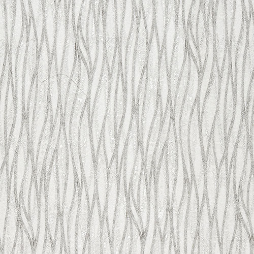 Fryetts Linear Curtain Fabric | Silver - Designer Curtain & Blinds