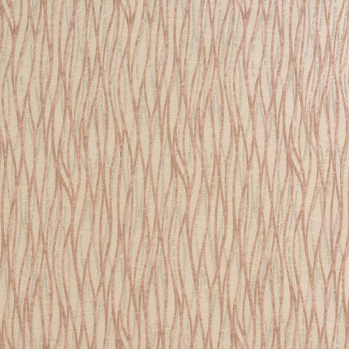 Linear curtain fabric in Blush by Fryetts