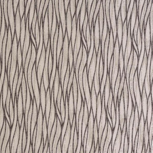 Linear curtain fabric in Dove by Fryetts