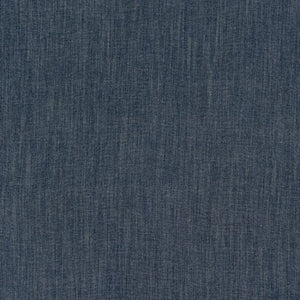 Monza curtain fabric by Fryetts in denim