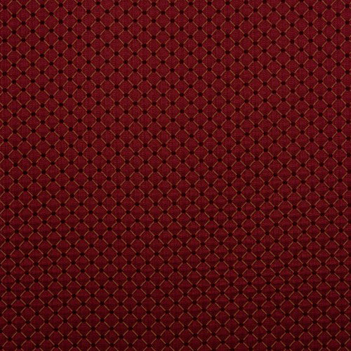 Porter & Stone Orpheus Curtain Fabric | Red - Designer Curtain & Blinds