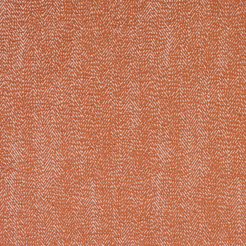 Fryetts Shelley Curtain Fabric | Terracotta - Designer Curtain & Blinds