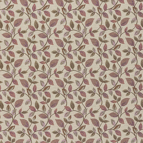 Vercelli curtain fabric in Blush by Porter & Stone