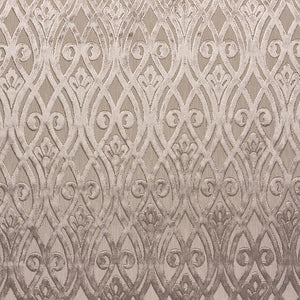 Venice Sofia curtain fabric in Bruno by Fibre Naturelle