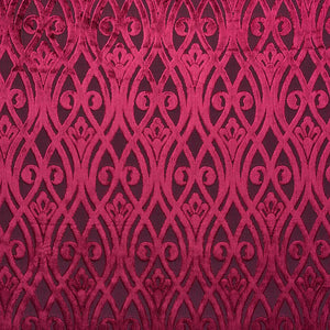 Venice Sofia curtain fabric in Rosa by Fibre Naturelle