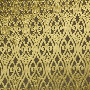 Venice Sofia curtain fabric in Verde by Fibre Naturelle