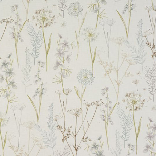 Porter & Stone Wild Flower Curtain Fabric | Wedgewood - Designer Curtain & Blinds
