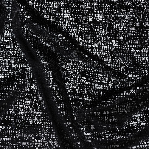 Fryetts Zinc Curtain Fabric | Noir - Designer Curtain & Blinds