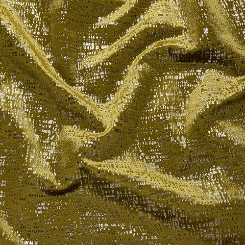 Fryetts Zinc Curtain Fabric | Ochre - Designer Curtain & Blinds