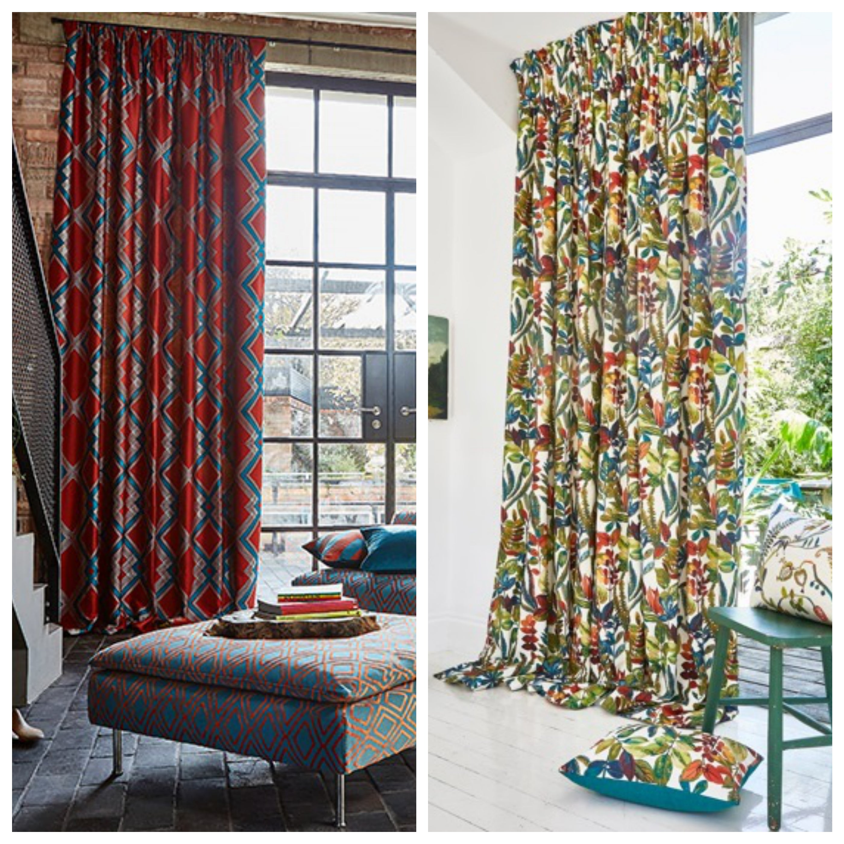 Pencil Pleat Style Curtains