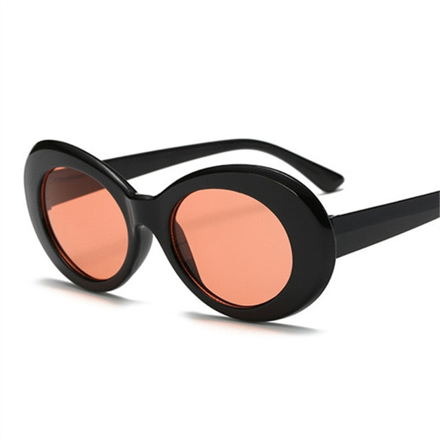 Black Sunglasses with Red Lens - Clout Goggle