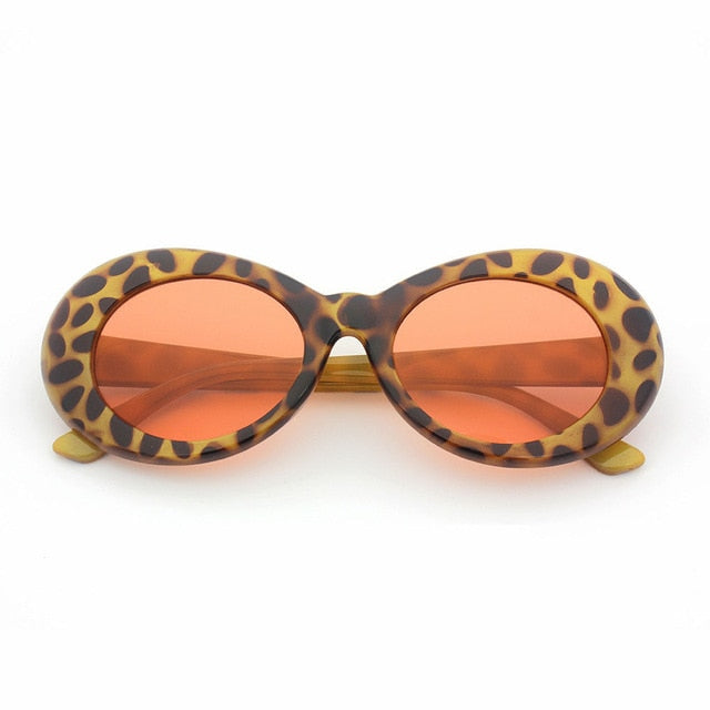 Clout Goggles Leopard + Red