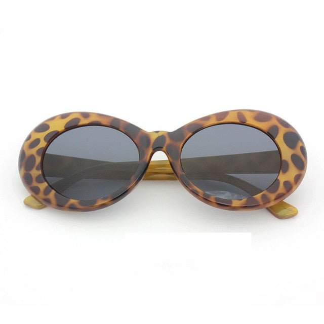 Leopard Sunglasses with Black Lens - Clout Goggle