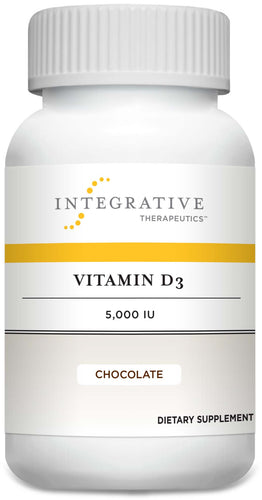 Integrative Therapeutics Vitamin D3 5,000IU Chocolate Chewable Tablet