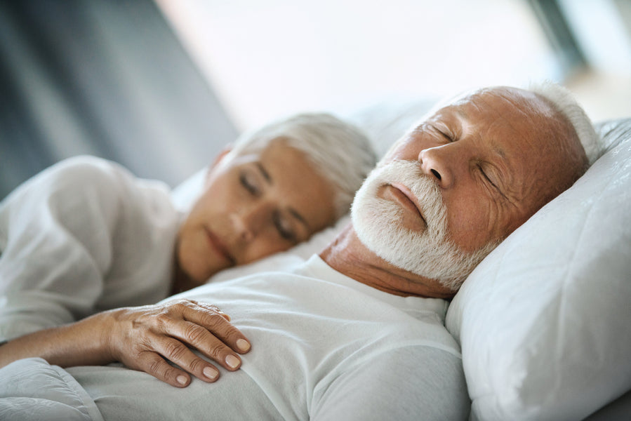 The benefits of a good nights sleep for the elderly