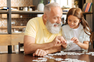 The benefits of puzzles - keeping the mind active for the elderly