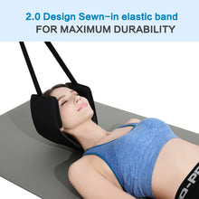 Neck Head Hammock For Text Cervical Back Pain Relief  With Free Eye Mask And Durable Elastic Safety