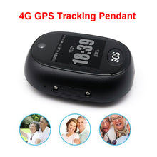 Load image into Gallery viewer, 4G GPS Tracking Pendant V45 For Elderly Mini GPS Personal Tracker Alarm Talking Clock Waterproof