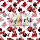 Mouse Girl Collection Bow Vinyl
