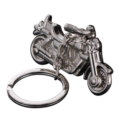 Motorcycle Decoration Alloy Keychain 3D Motorbike Street Bike Key Ring