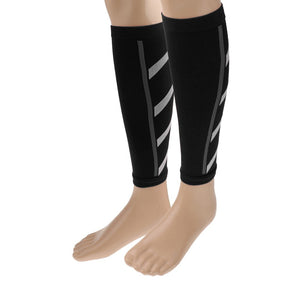 Unisex Men Wome Running Athletics Compression Sleeves Calf Leg Shin Splints Elbow Knee Pads Protection Sports Safety 2018
