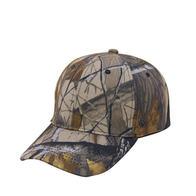 Unisex outdoor camouflage duck tongue baseball hat leaves quick-drying comfortable anti-UV running mountaineering cap
