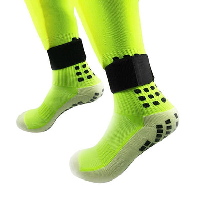 Outdoor sports protective gear ankle support football socks leggings Guards Guards calf fixed belt pair