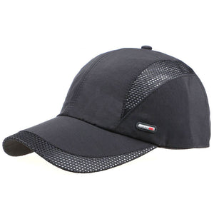 2018 Spring Summer Unisex Quick Dry Sun Hat Bone Breathable Mesh Casual Mesh Men Baseball Caps