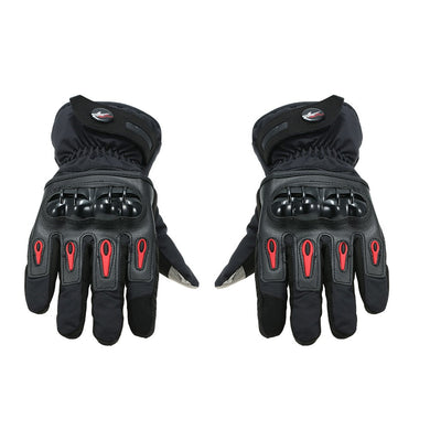 Pro-biker Winter Motorcycle Gloves Moto Warm Waterproof Protective Motorcycle Riders Anti Fall Off Gloves XXL